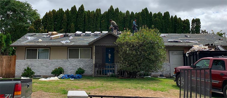 Vancouver Washington Roof Replacement
